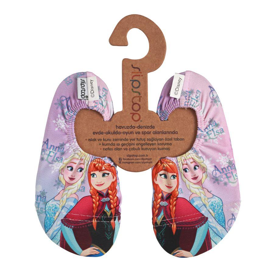 Slipstop Wizard Disney Frozen Çocuk Renkli Havuz Ayakkabısı