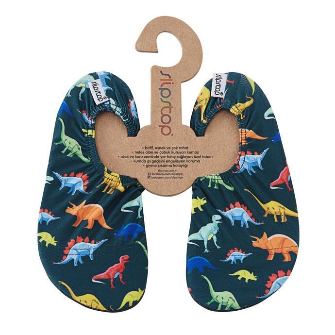Slipstop Dino Lacivert Çocuk Havuz Ayakkabısı