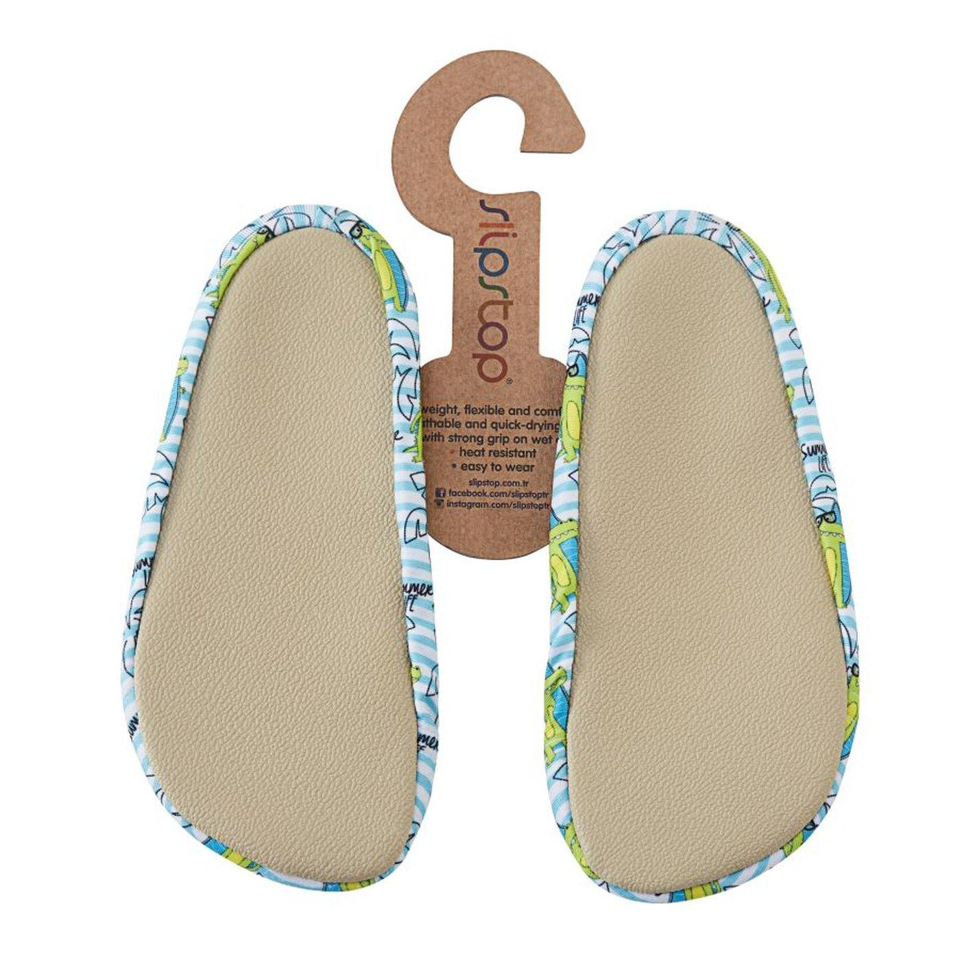 Slipstop Croc Mavi Çocuk Havuz Ayakkabısı