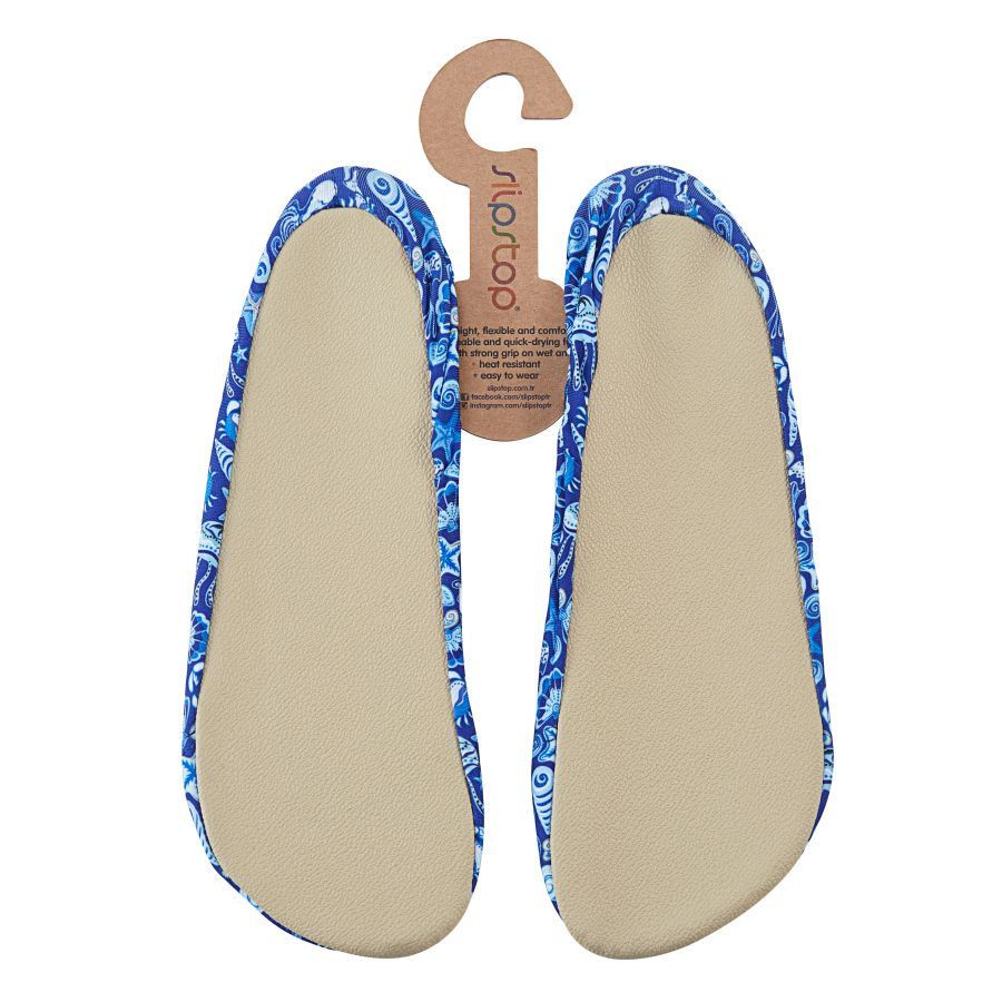 Slipstop Shell Kadın Mavi Havuz Ayakkabısı