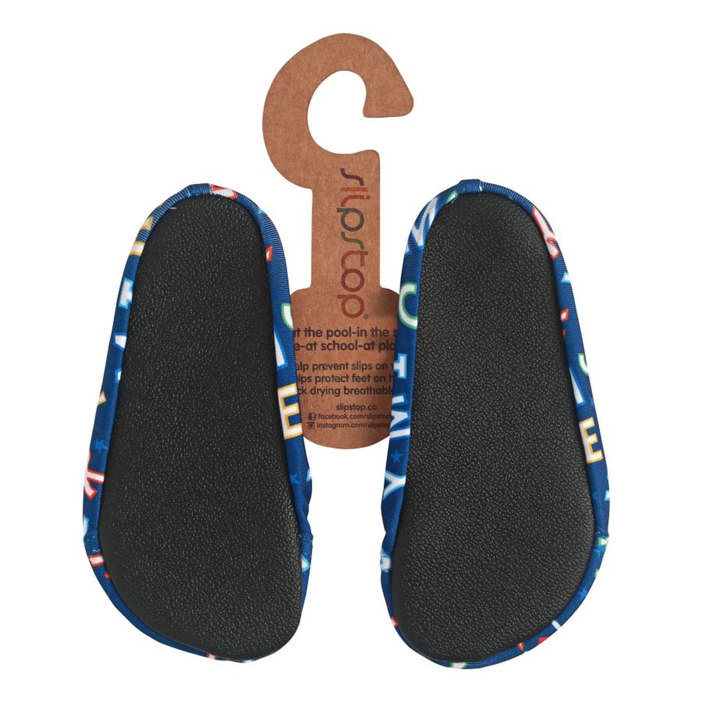 Slipstop Lazy Disney Mickey Çocuk Renkli Havuz Ayakkabısı