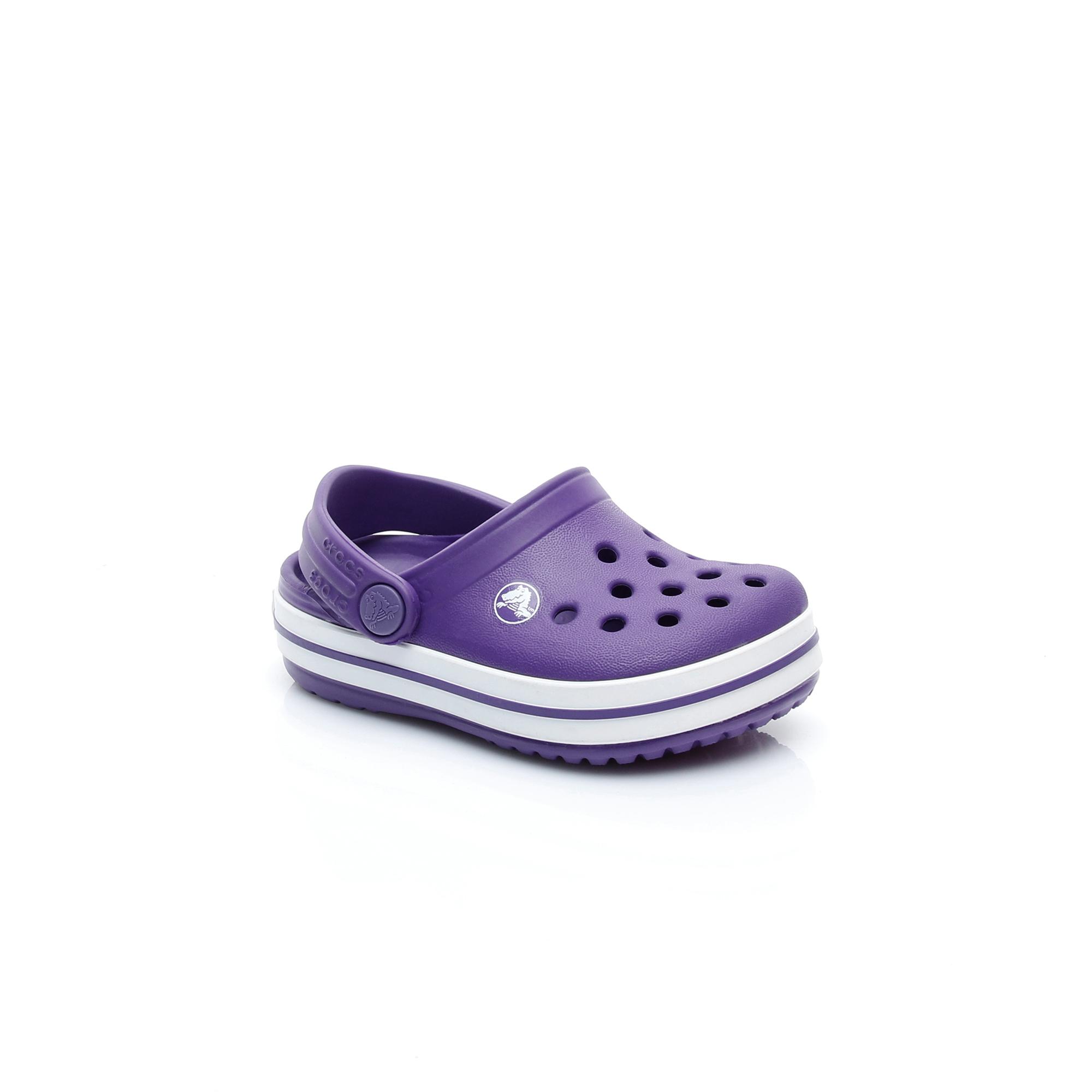 Crocs Crocband Clog K Çocuk Mor Terlik