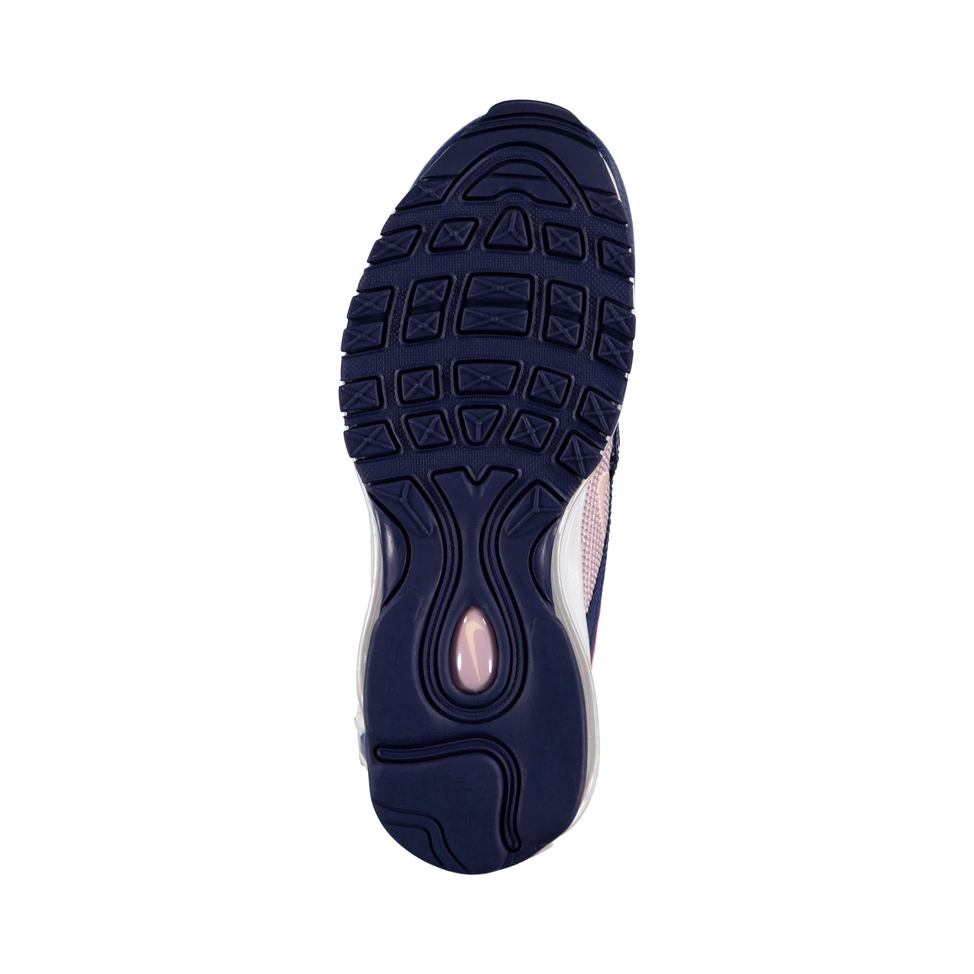 Nike W Air Max 97 Kadın Kırmızı-Lacivert Spor Ayakkabı