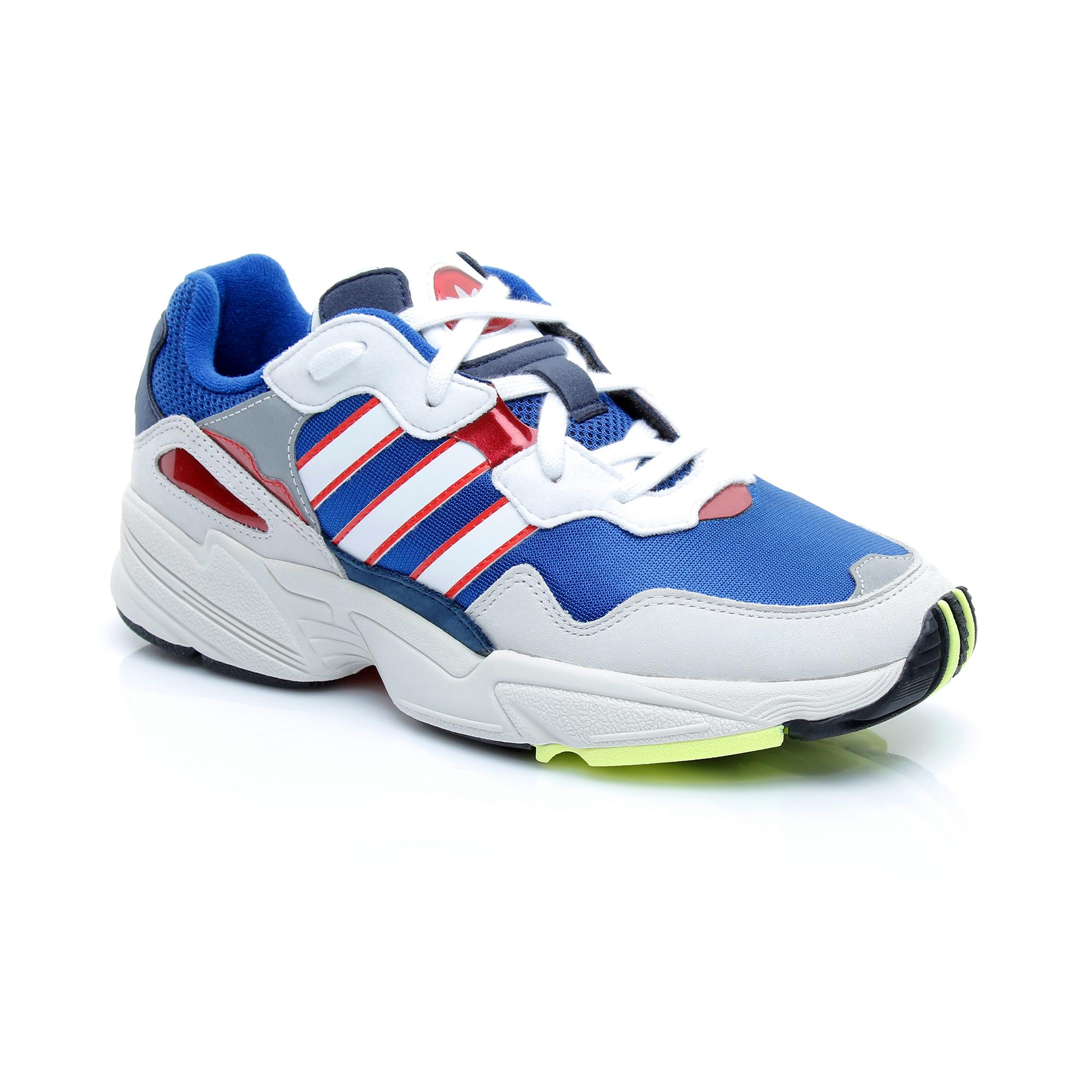 adidas Originals Yung-96 Erkek Beyaz-Mavi Spor Ayakkabı
