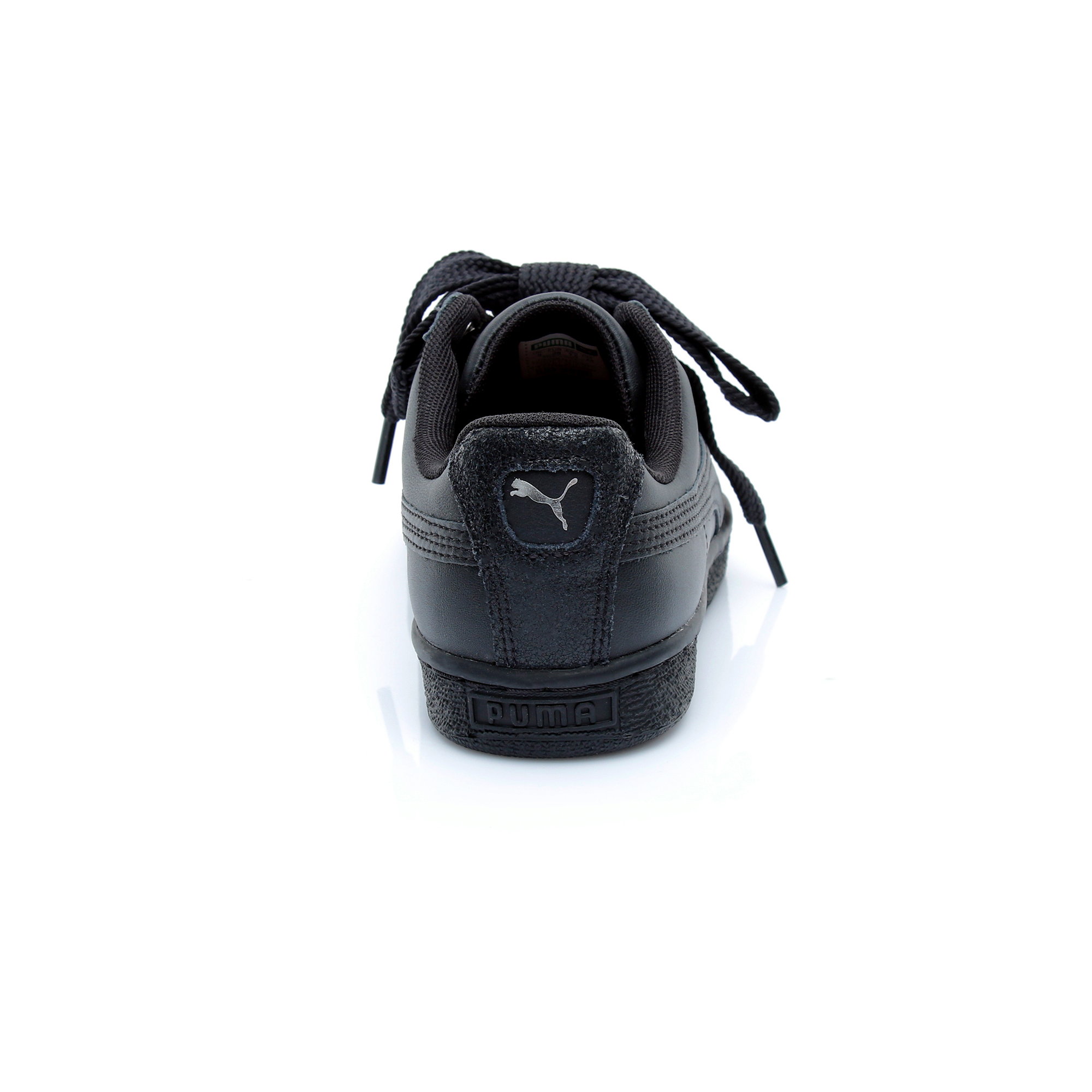 Puma Basket Heart Bio Hacking Kadın Siyah Spor Ayakkabı