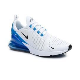 Nike Air Max 270 Erkek Beyaz-Mavi Spor Ayakkabı