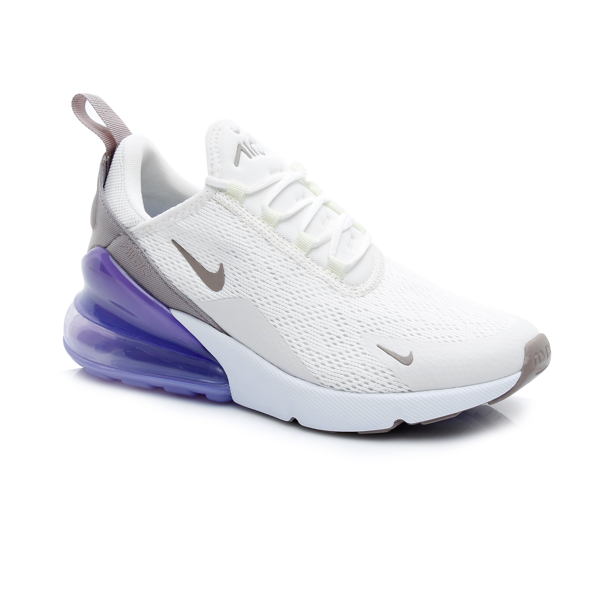 Nike Air Max 270 Kadın Krem Mor Spor Ayakkabı