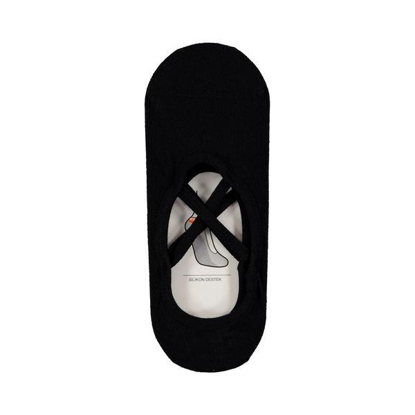 Superstep Kadın Siyah Çorap