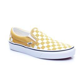 Vans UA Classic Slip-On Unisex Sarı Sneaker
