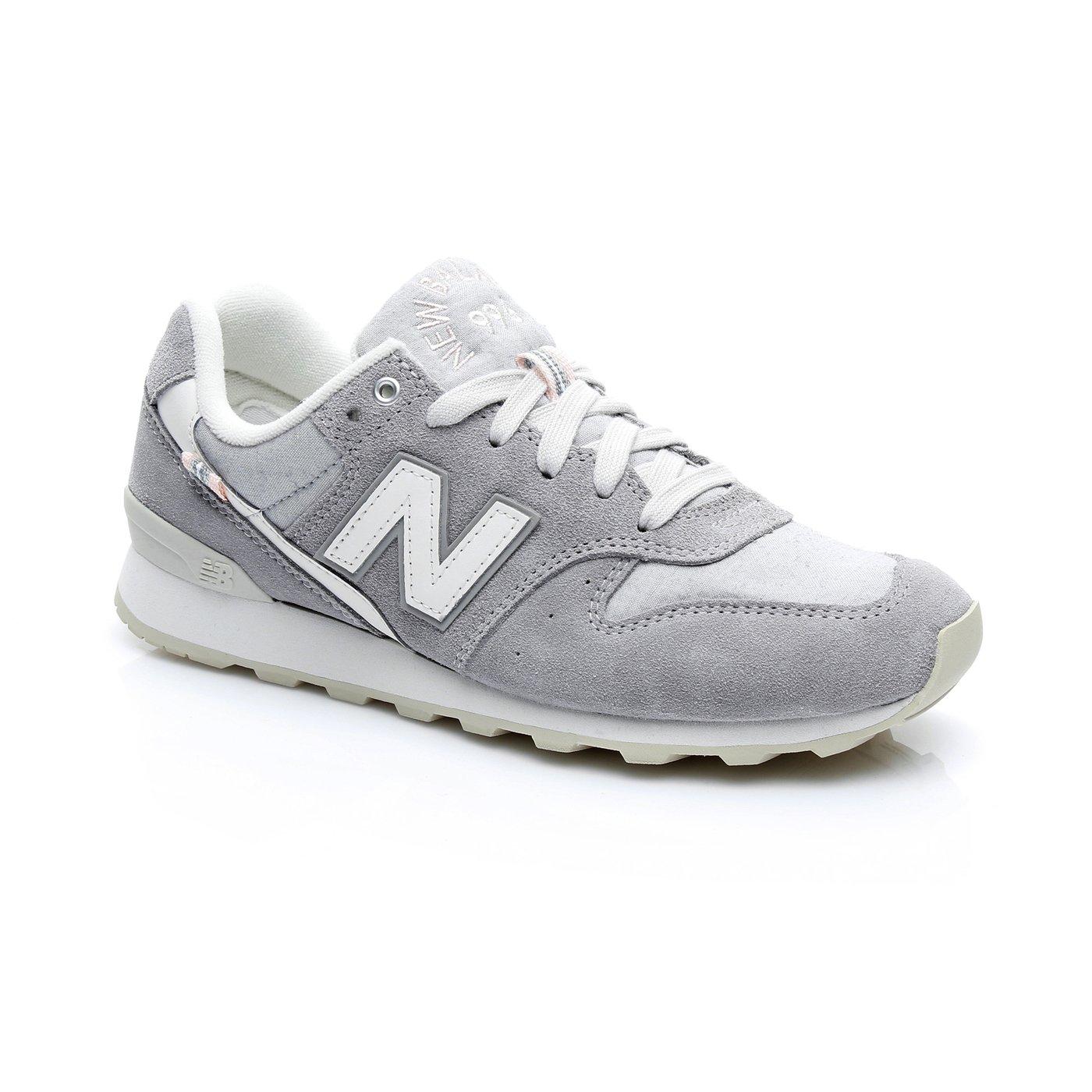 New Balance 996 Kadın Gri Spor Ayakkabı