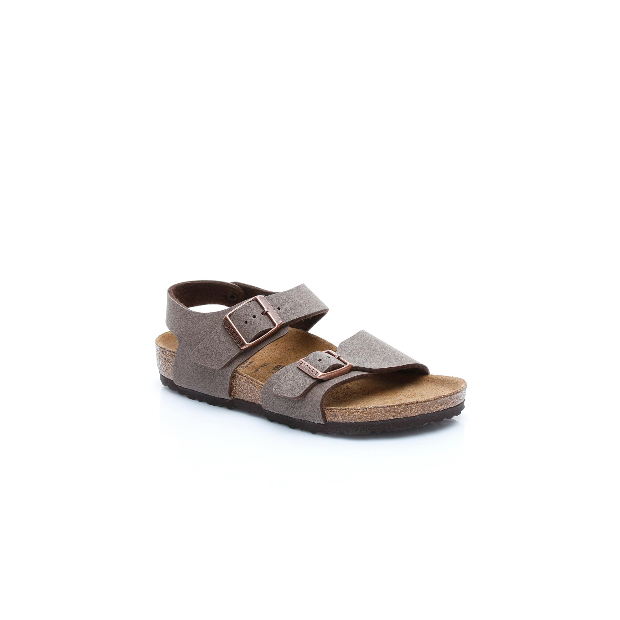 Birkenstock New York BF Çocuk Kahverengi Sandalet