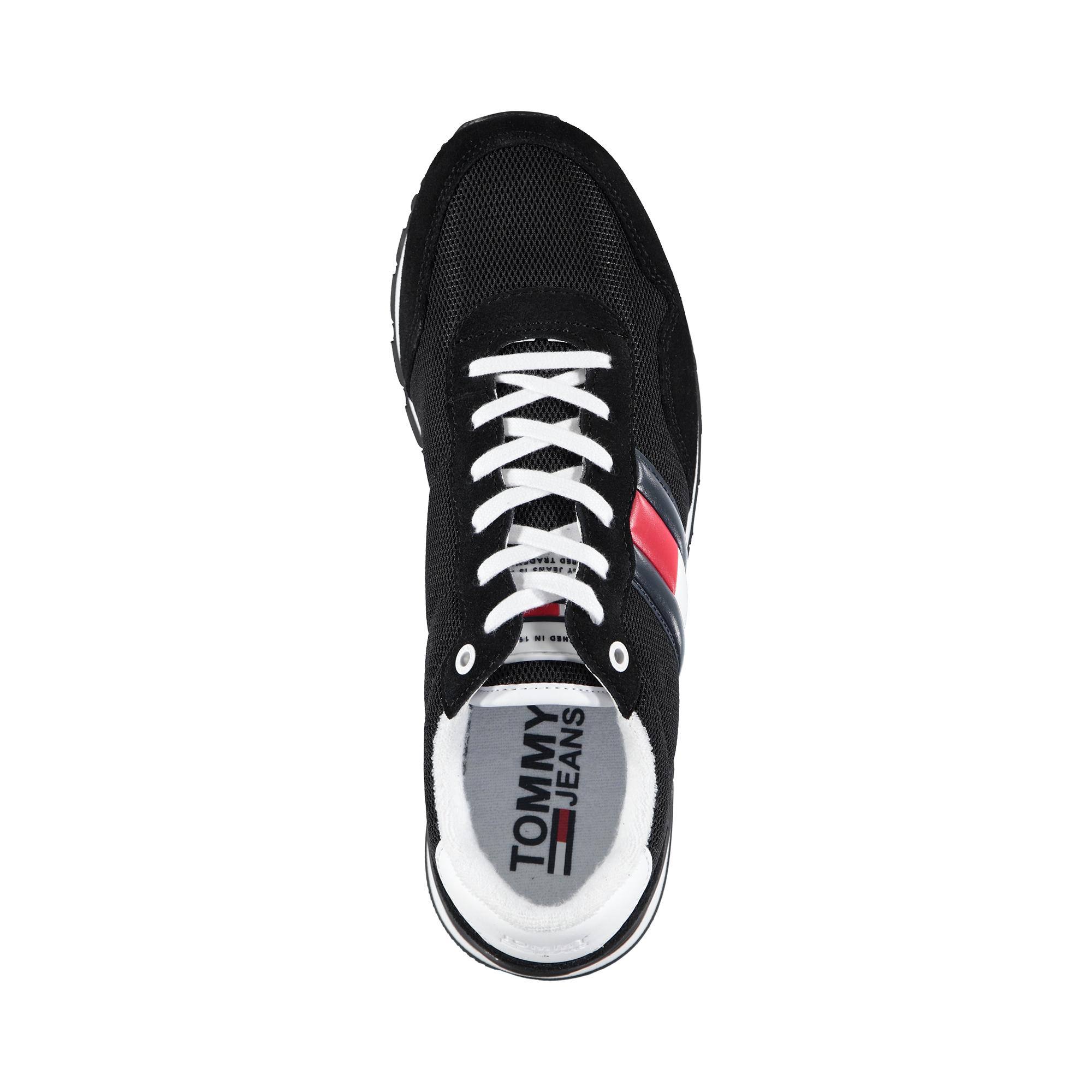 Tommy Hilfiger Casual Jeans's Erkek Siyah Spor Ayakkabı