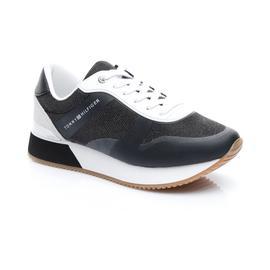 Tommy Hilfiger Glitter City Kadın Siyah Spor Ayakkabı