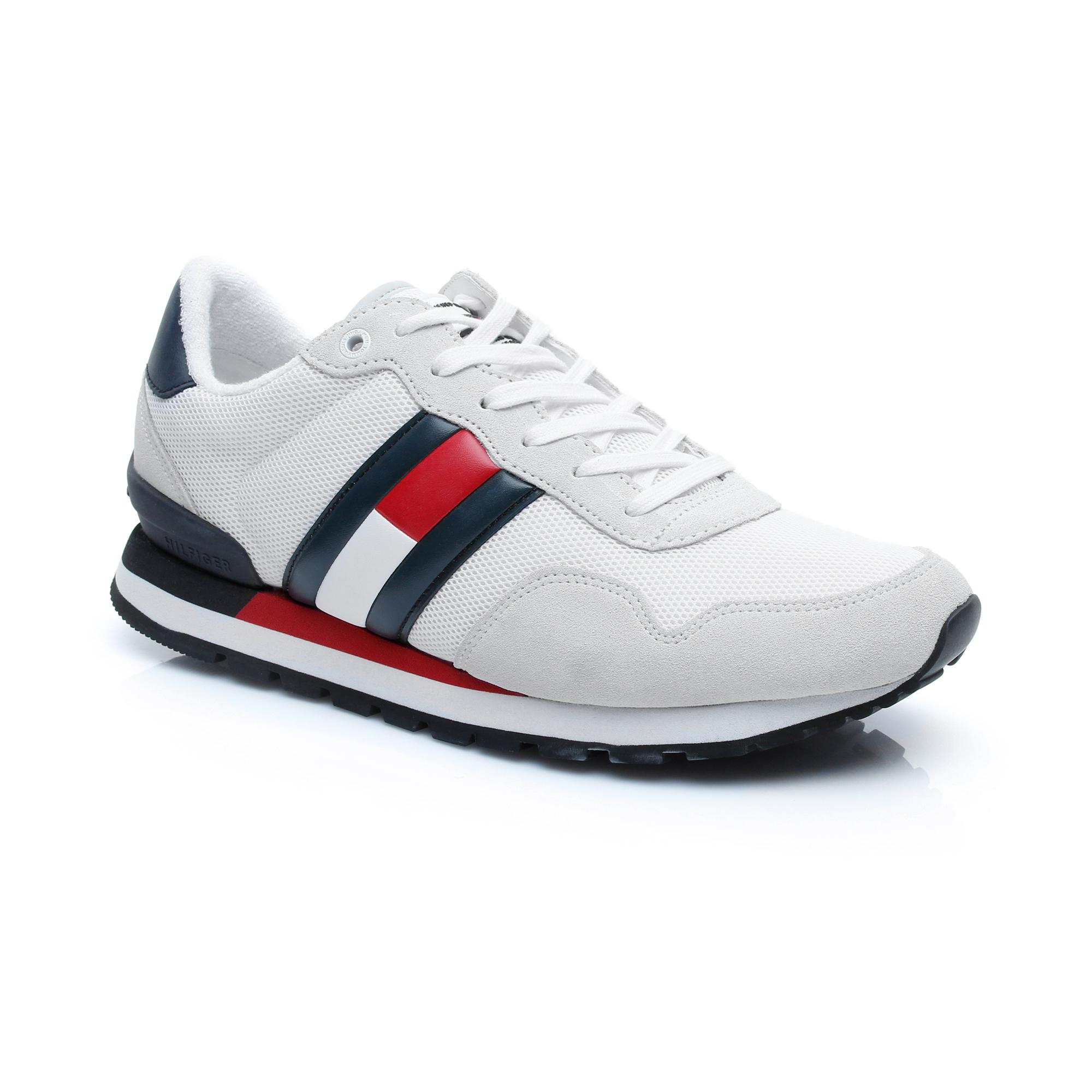 Tommy Hilfiger Casual Jeans's Erkek Beyaz Spor Ayakkabı