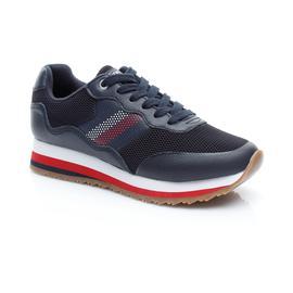 Tommy Hilfiger Corporate Retr Kadın Lacivert Spor Ayakkabı