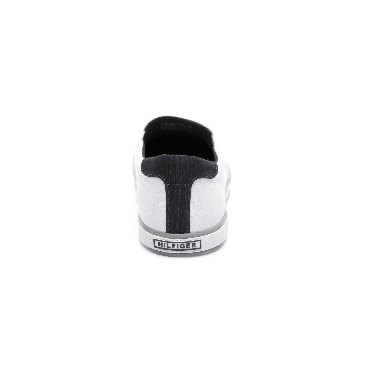 Tommy Hilfiger Iconic Slip On Erkek Beyaz Sneaker