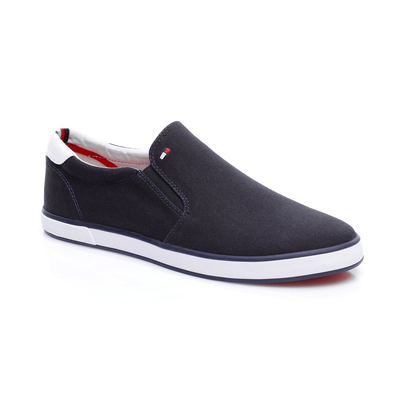 Tommy Hilfiger Iconic Slip On Erkek Lacivert Sneaker