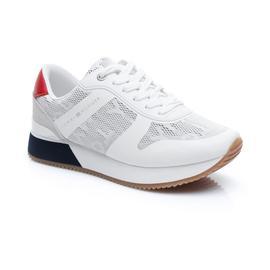 Tommy Hilfiger Jacquard City Kadın Beyaz Spor Ayakkabı