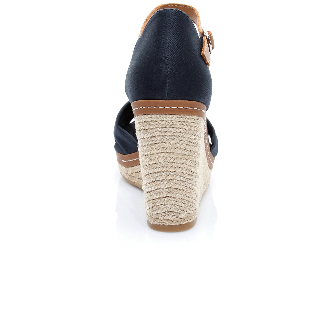 Tommy Hilfiger Iconic Elena Kadın Lacivert Sandalet
