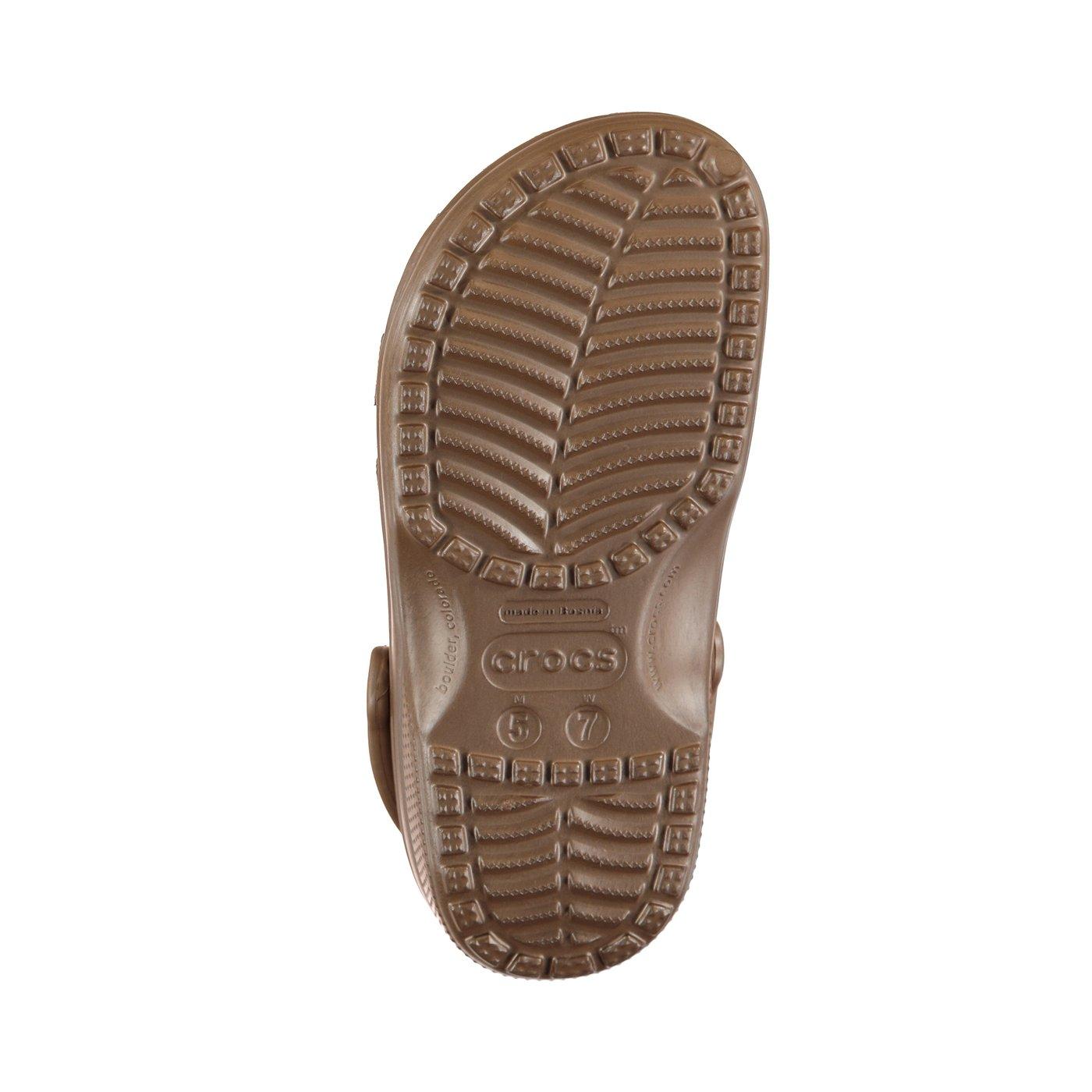 Crocs Classic Kadın Kahverengi Terlik