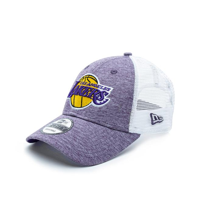 New Era 9Forty Los Angeles Lakers Mor Unisex Şapka