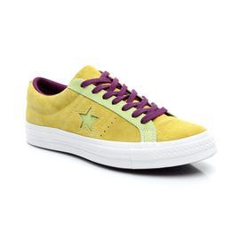 Converse One Star Carnival Kadın Sarı Ayakkabı