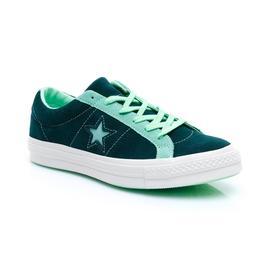 Converse One Star OX Kadın Yeşil Ayakkabı