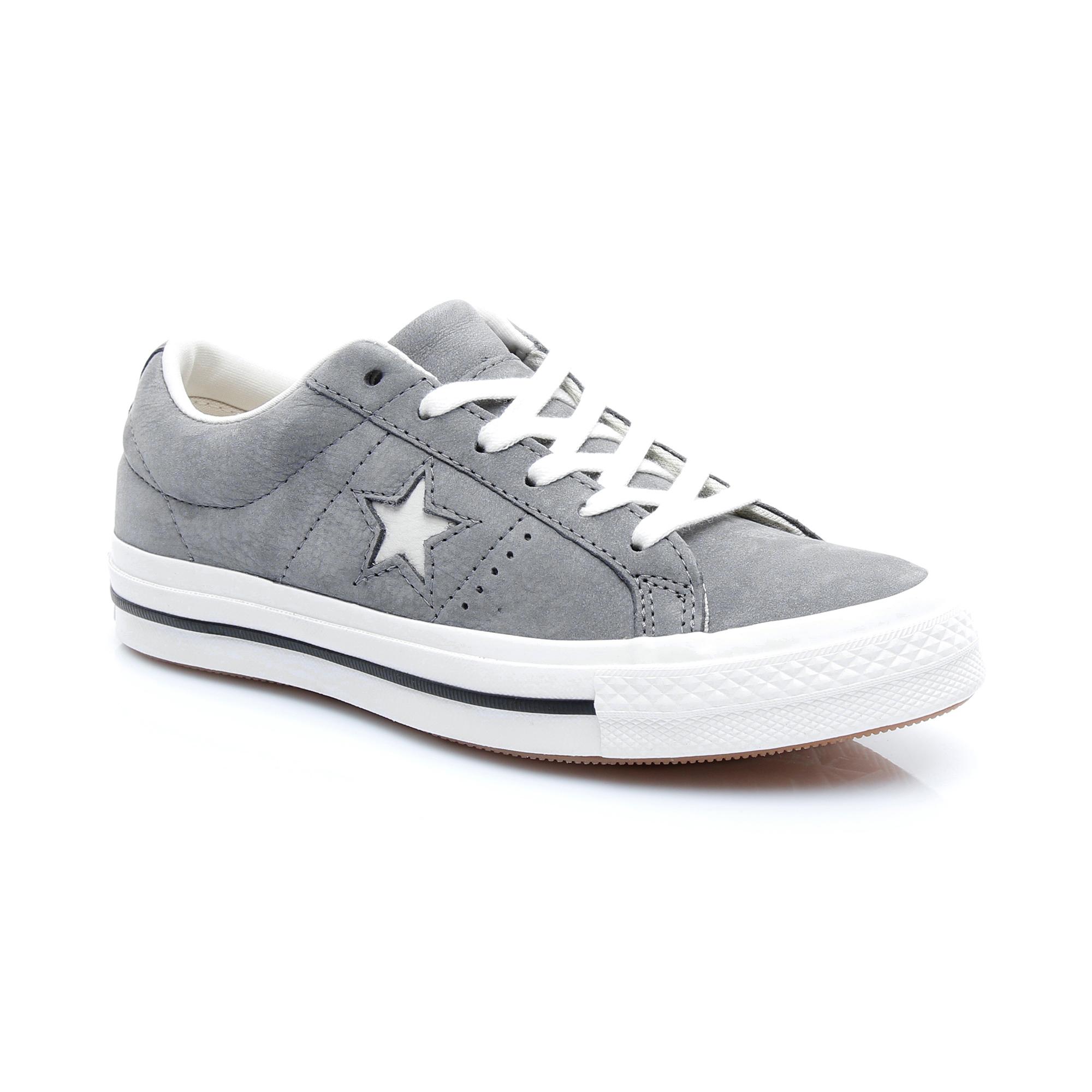 Converse One Star Kadın Gri Sneaker