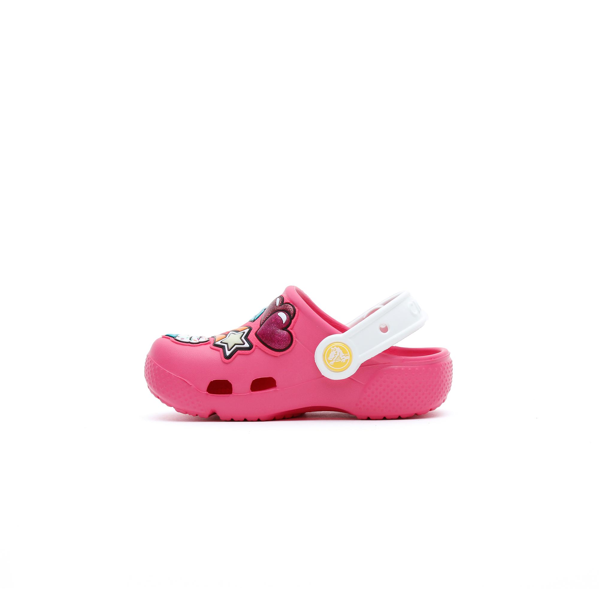 Crocs Crocs Fl Playful Patches Clg K Çocuk Pembe Terlik