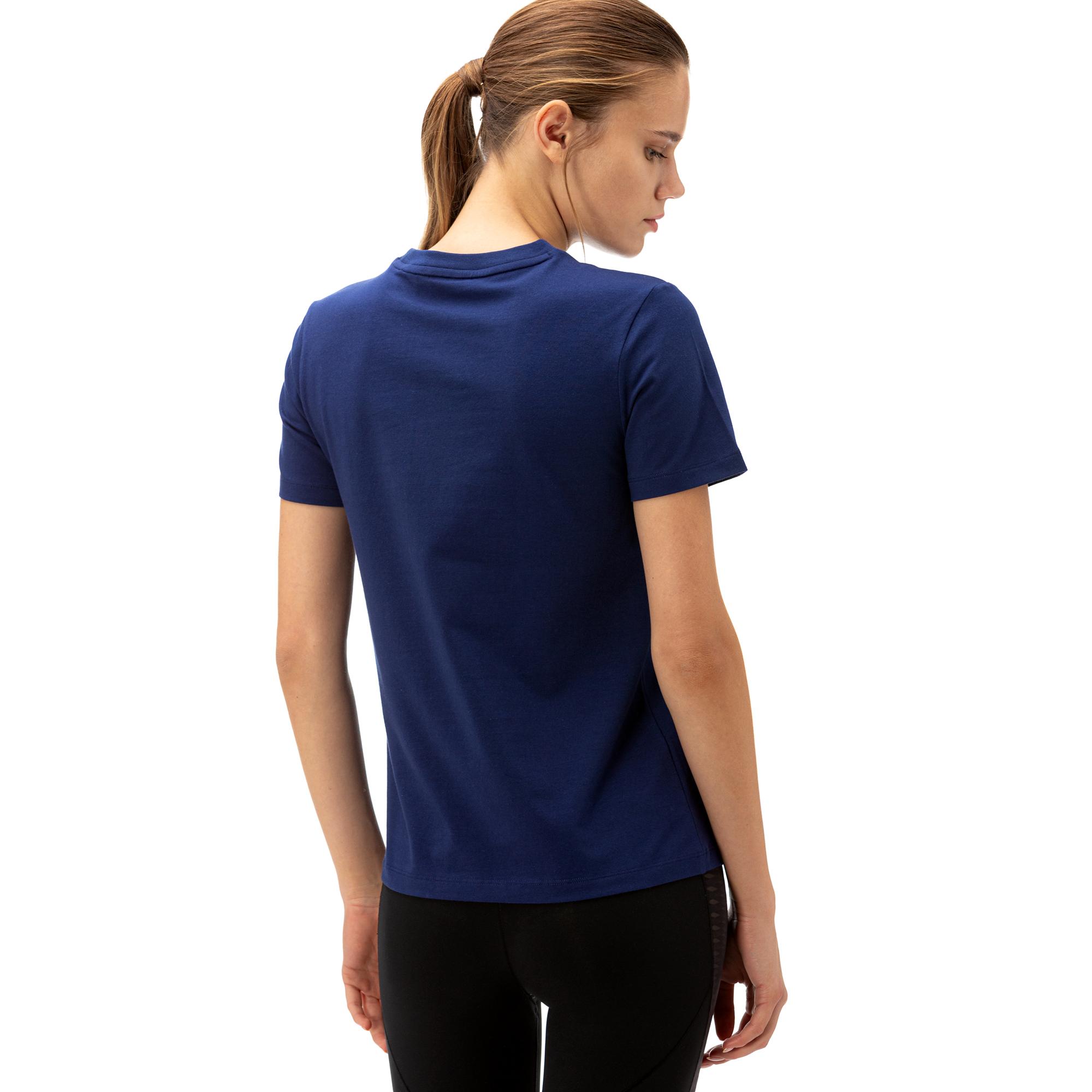 adidas Trefoil Kadın Lacivert T-Shirt