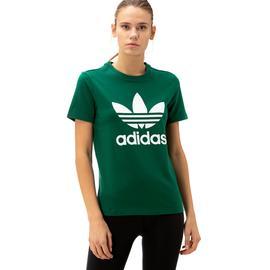adidas Trefoil Kadın Yeşil T-Shirt