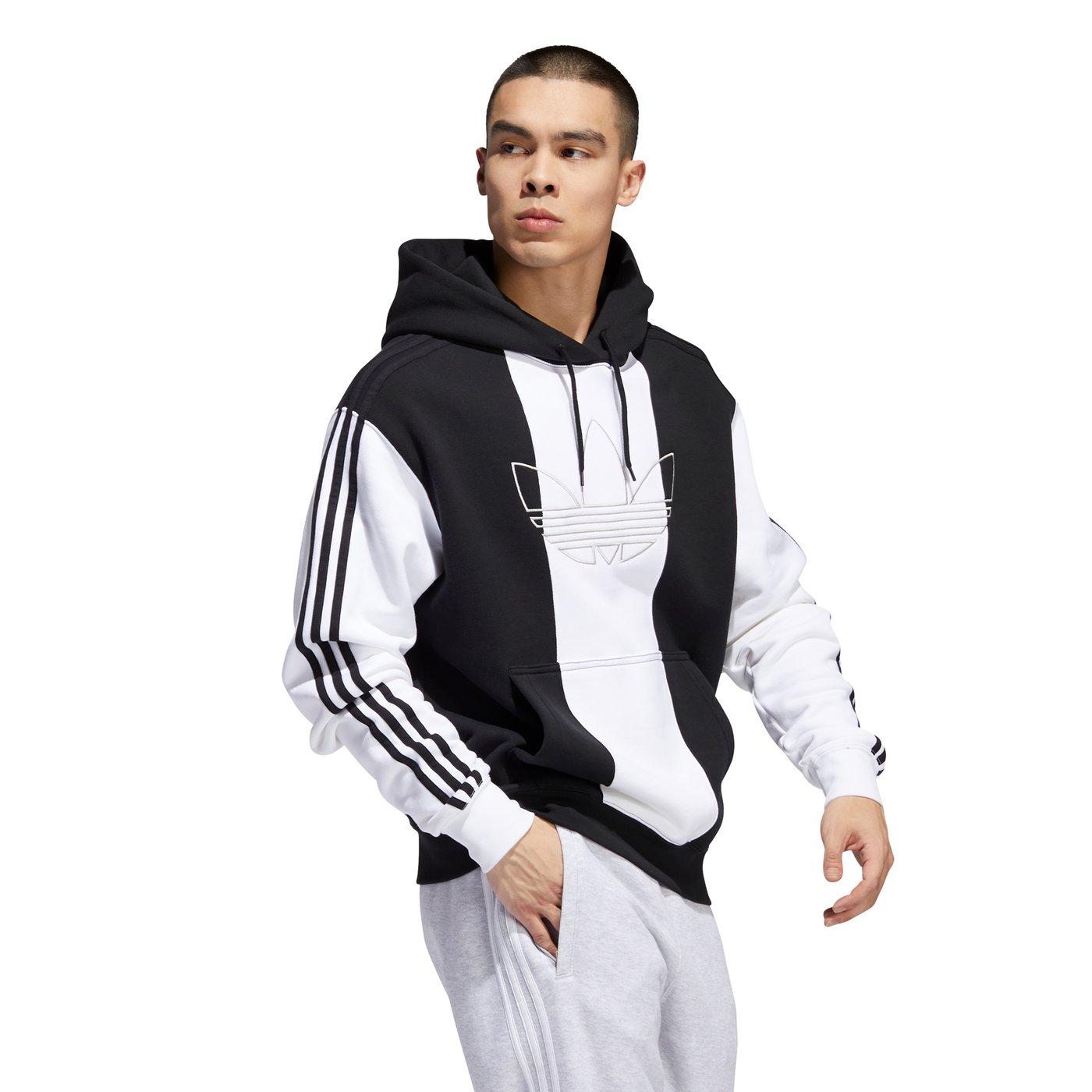 adidas Off Court Trefo Erkek Siyah-Beyaz Sweatshirt