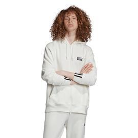 adidas Kapüşonlu Erkek Beyaz Sweatshirt
