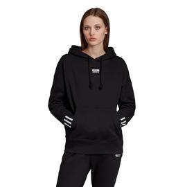 adidas Kapüşonlu Kadın Siyah Sweatshirt