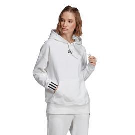 adidas Kapüşonlu Kadın Beyaz Sweatshirt