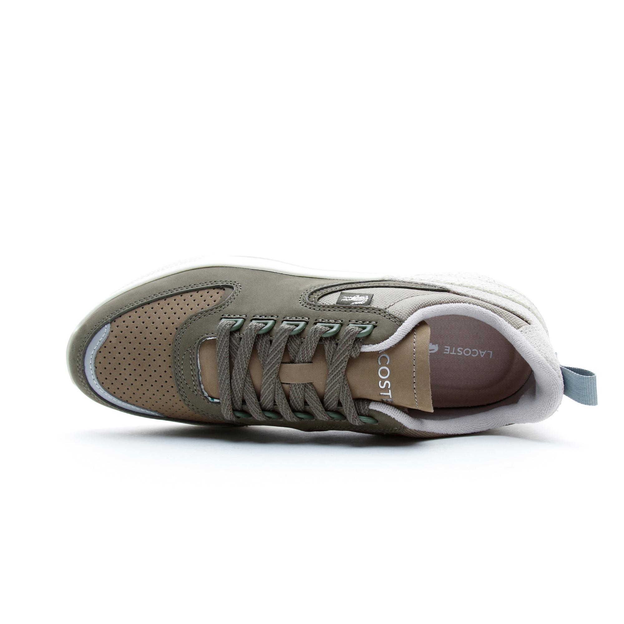 Lacoste Wildcard Erkek Haki - Bej Spor Ayakkabı