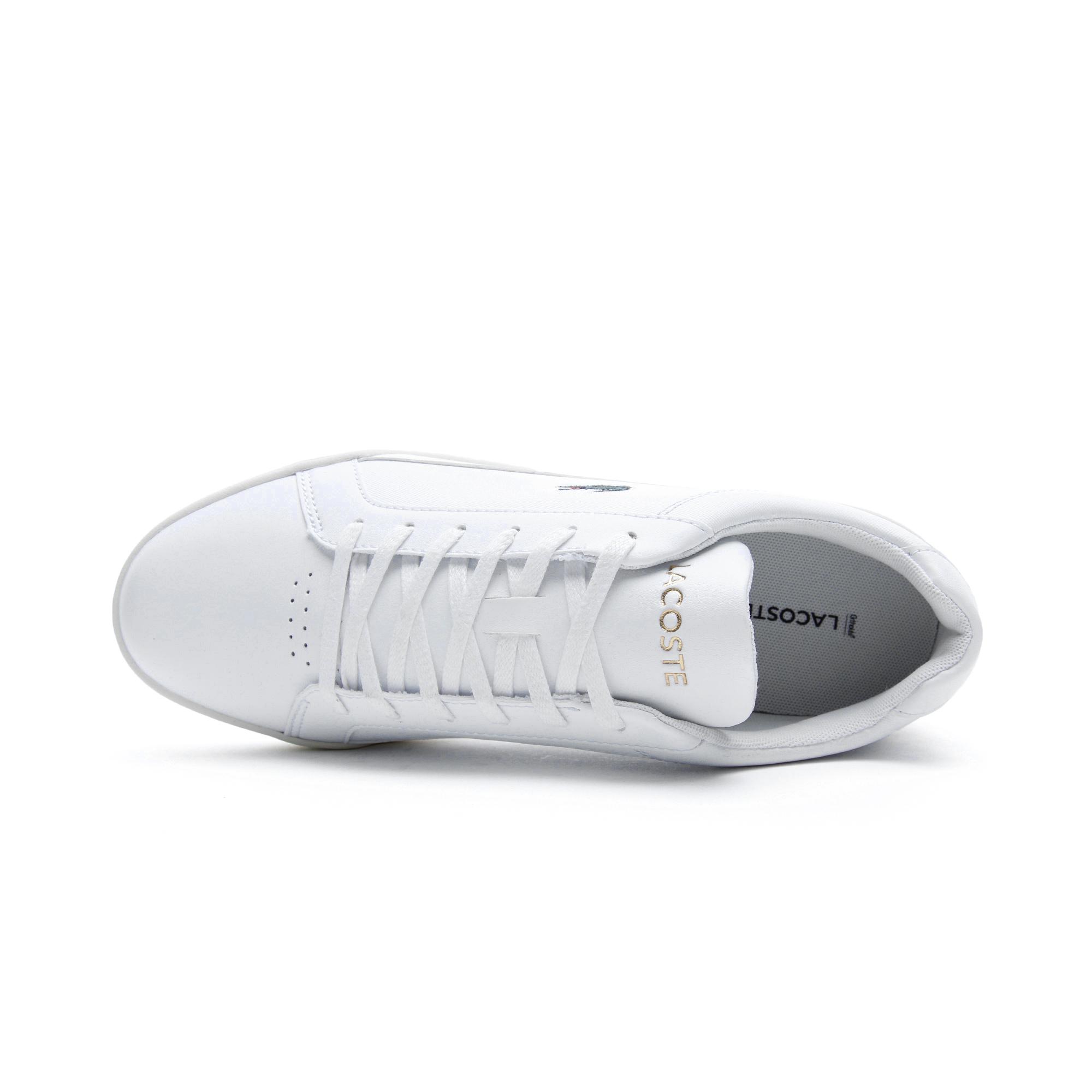 Lacoste Challenge Erkek Beyaz - Bej Spor Ayakkabı