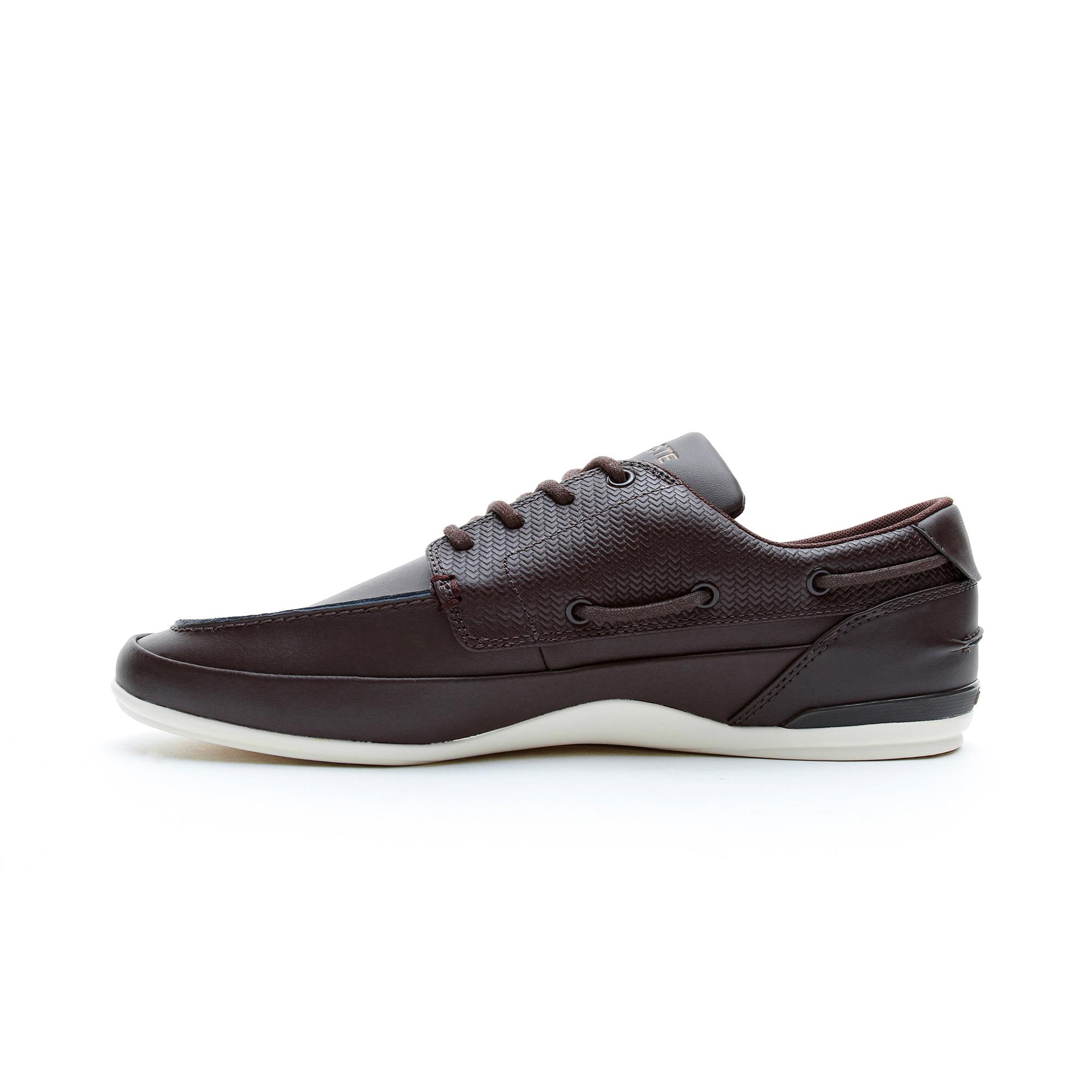Lacoste Marina Erkek Kahverengi Günlük Ayakkabı