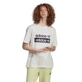 adidas D-R.Y.V. Beyaz Erkek T-Shirt