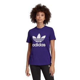 adidas Trefoil Mor Kadın T-Shirt