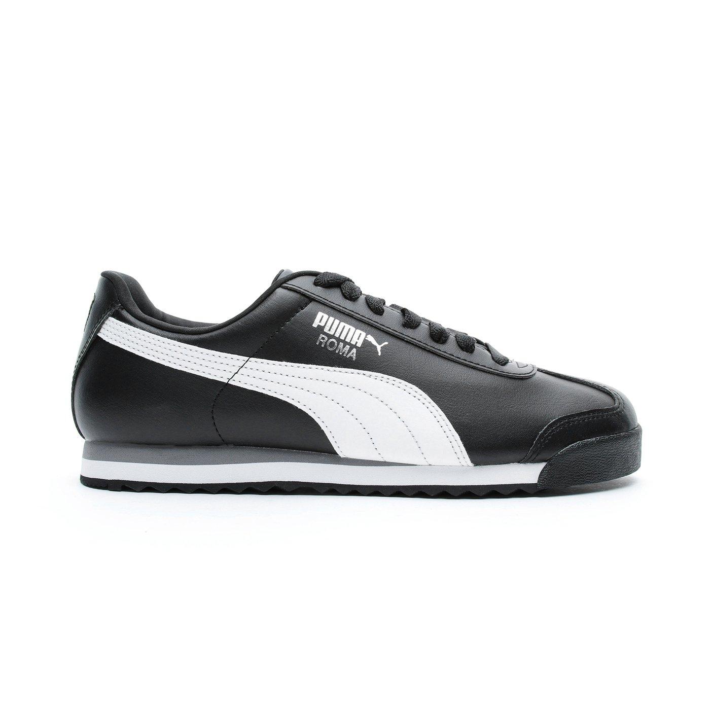 Puma Roma Basic Erkek Siyah Spor Ayakkabı