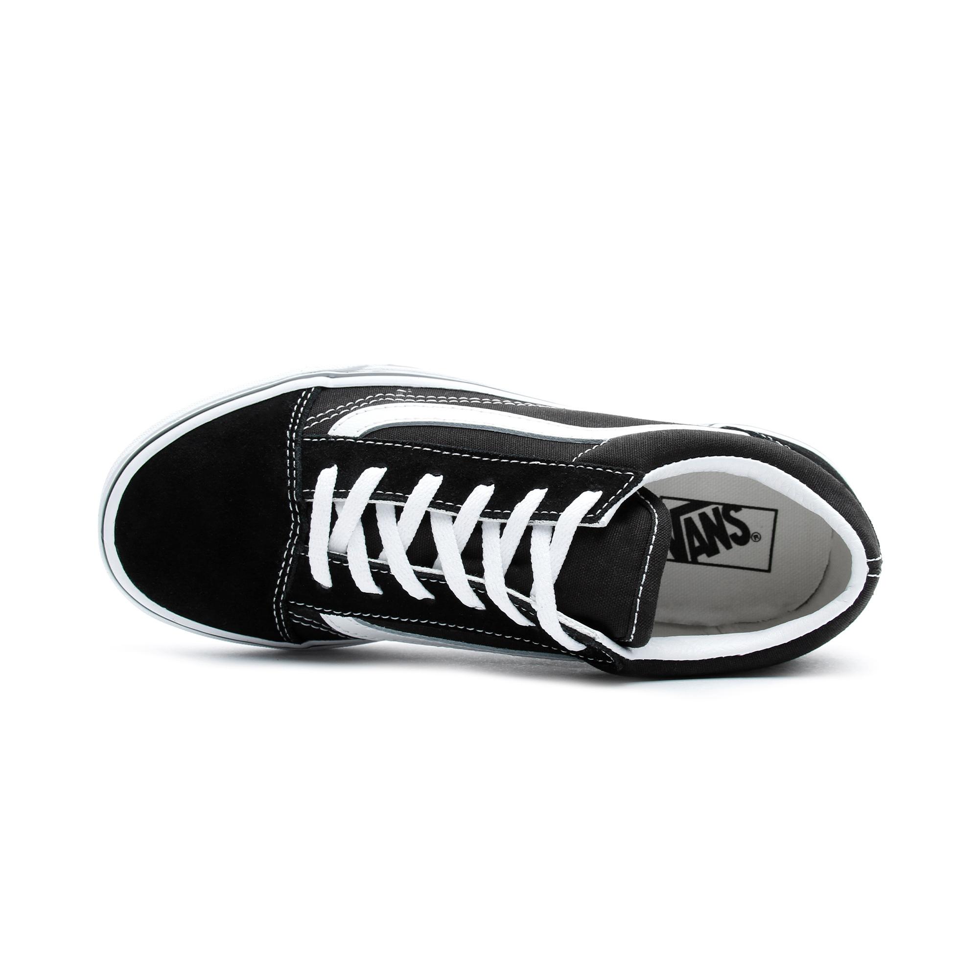 Vans Old Skool Siyah Çocuk Sneaker