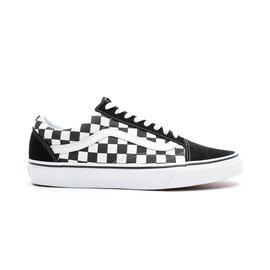 Vans  Primary Check Old Skool Siyah - Beyaz Unisex Sneaker