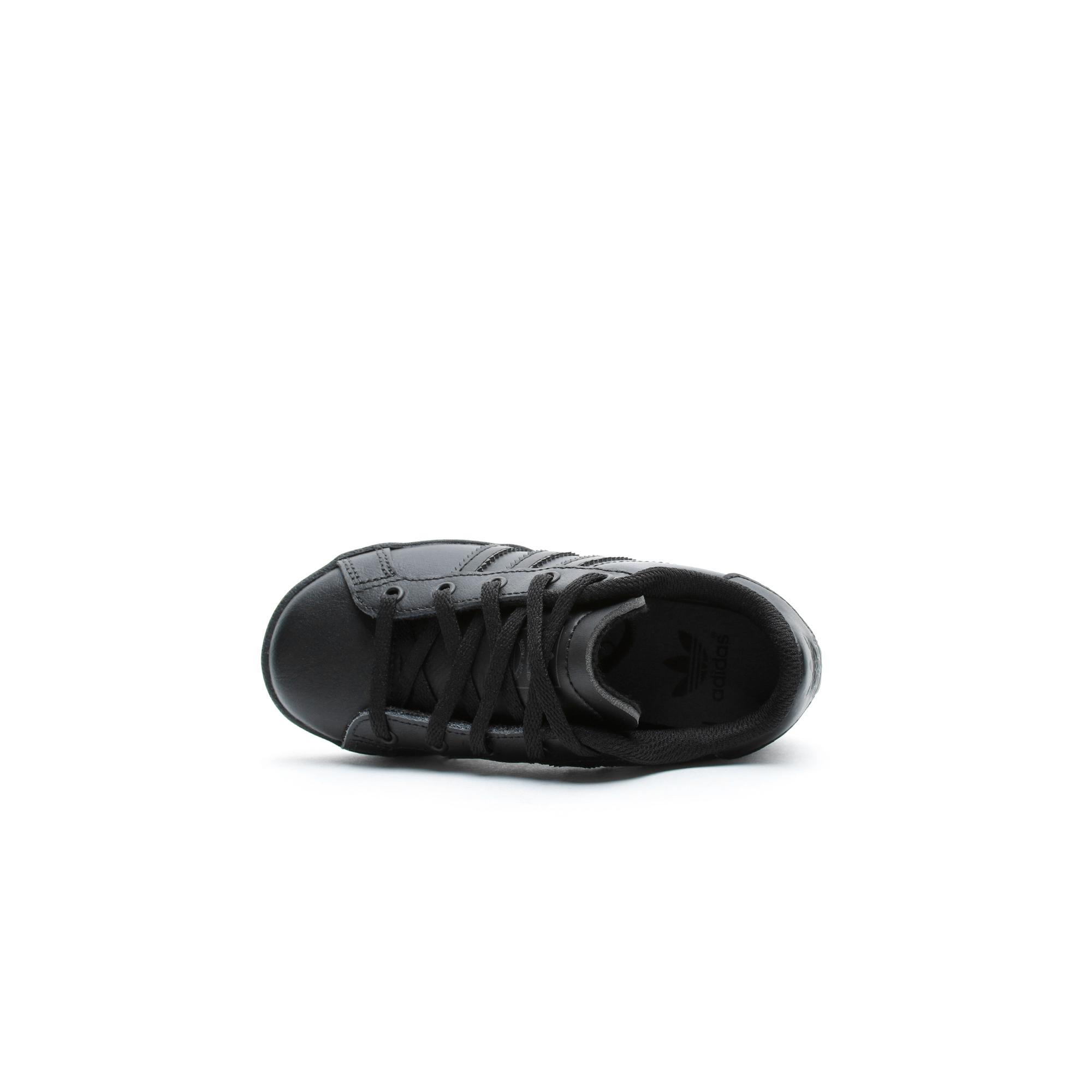 adidas Coast Star Çocuk Siyah Spor Ayakkabı