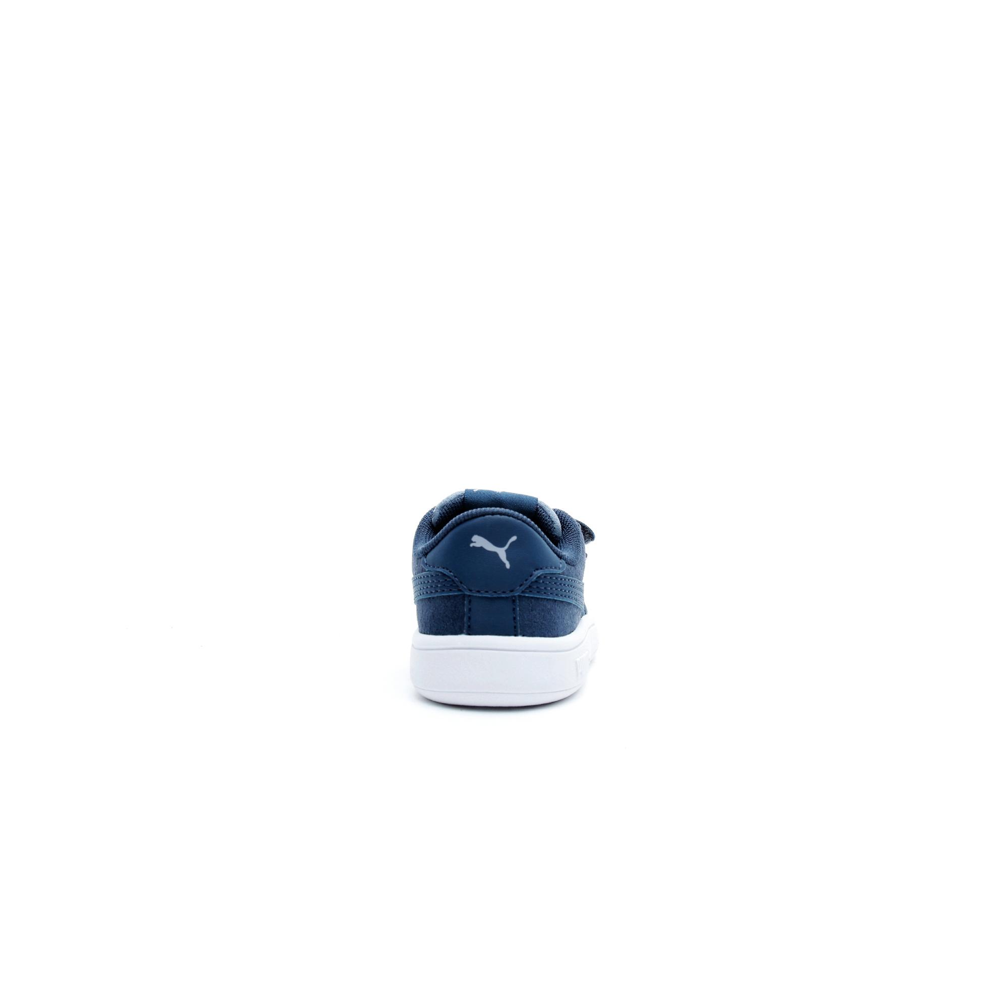 Puma Smash V2 Monster Bebek Mavi Spor Ayakkabı