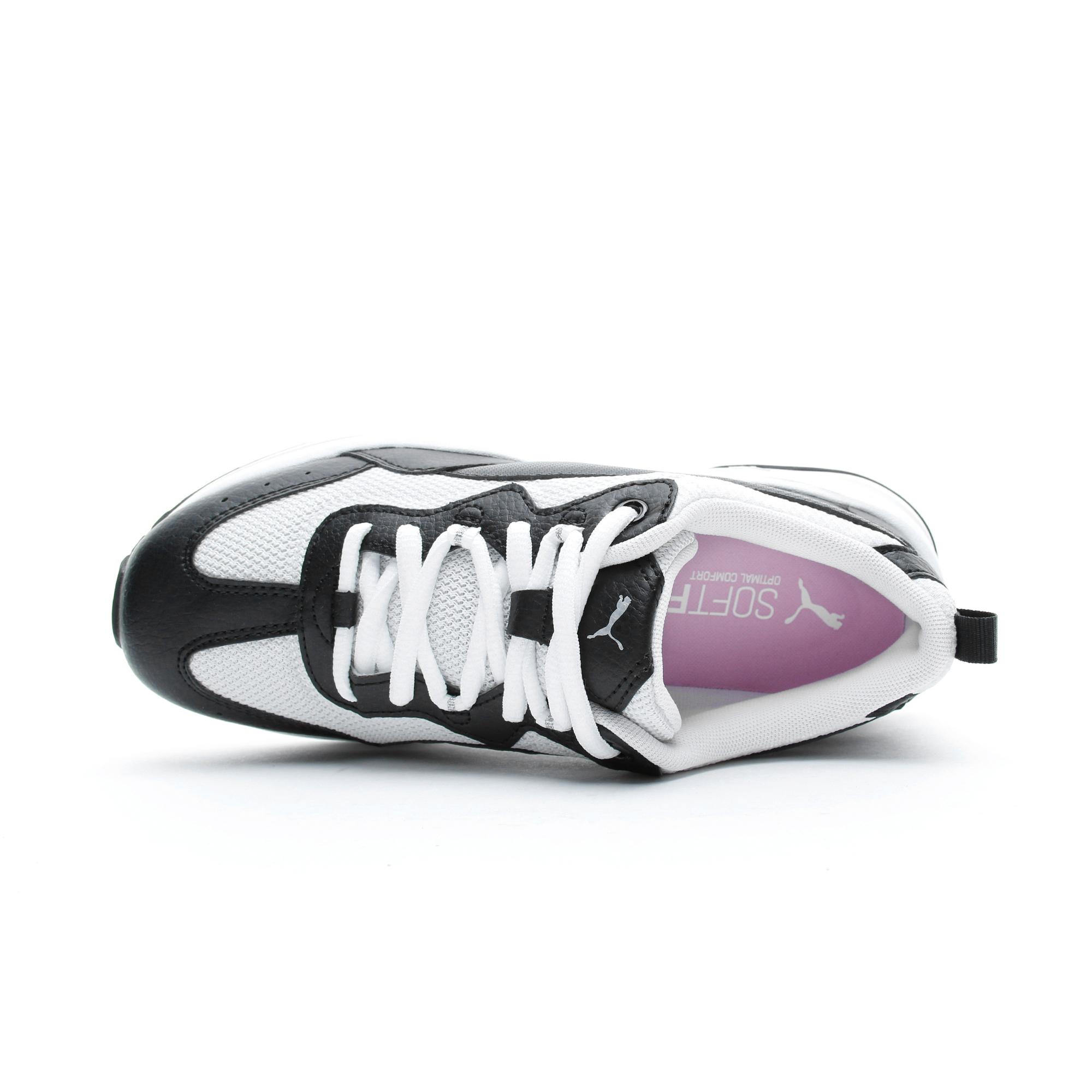 Puma Cilia Kadın Siyah-Beyaz Spor Ayakkabı