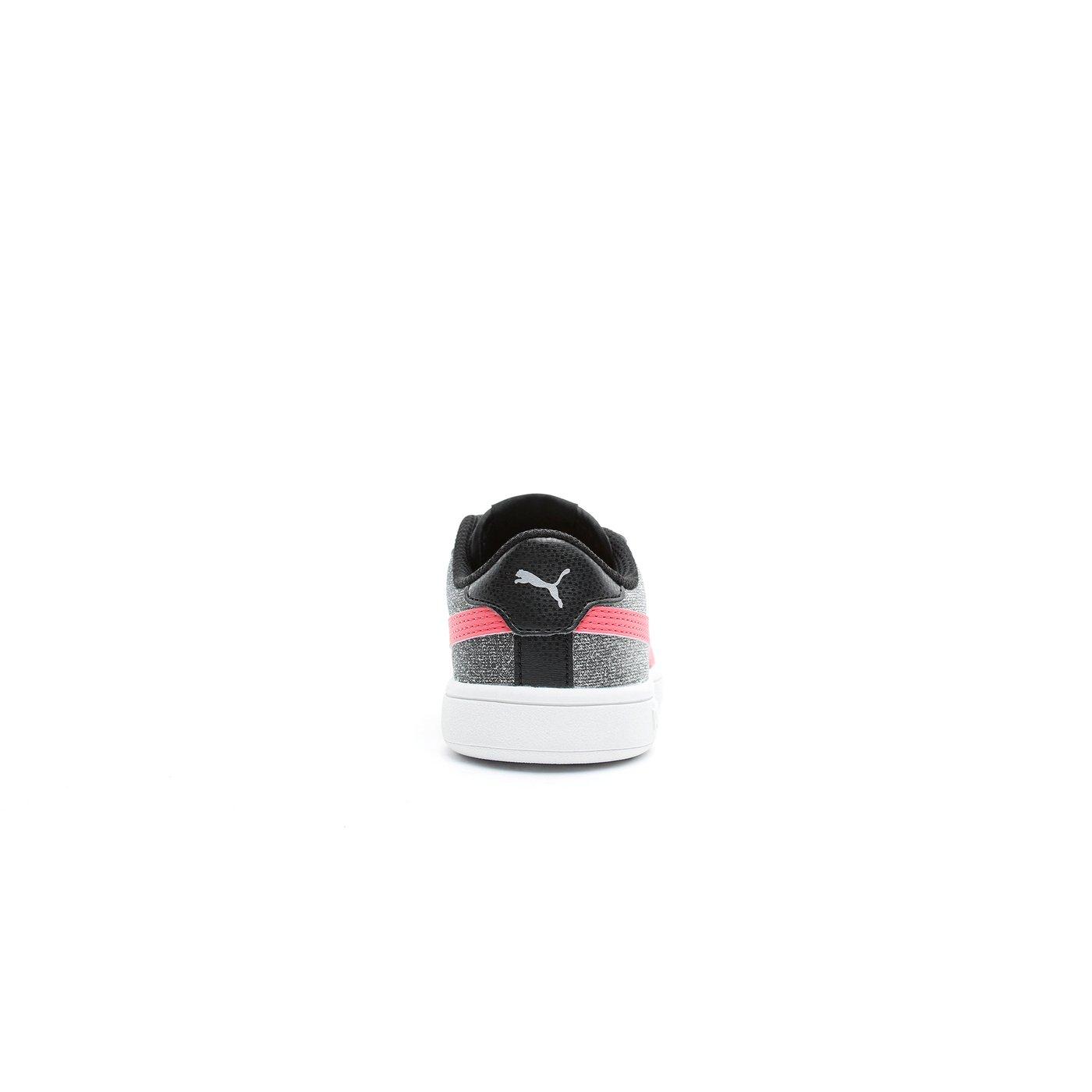 Puma Smash V2 Glitz Glam Çocuk Gri Spor Ayakkabı