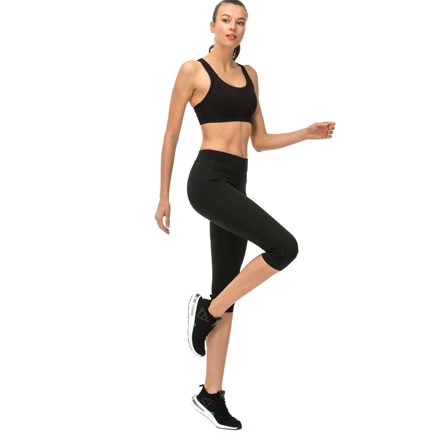 adidas 3 4 Stella McCartney Kadın Siyah Tayt