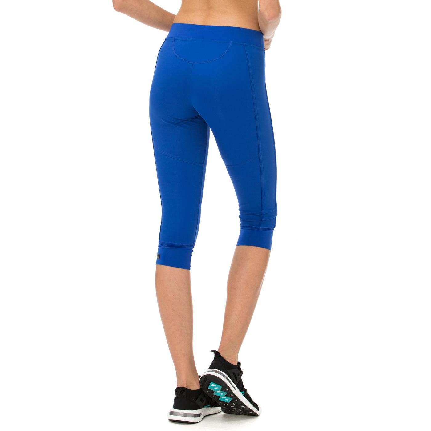 adidas 3 4 Stella McCartney Kadın Mavi Tayt