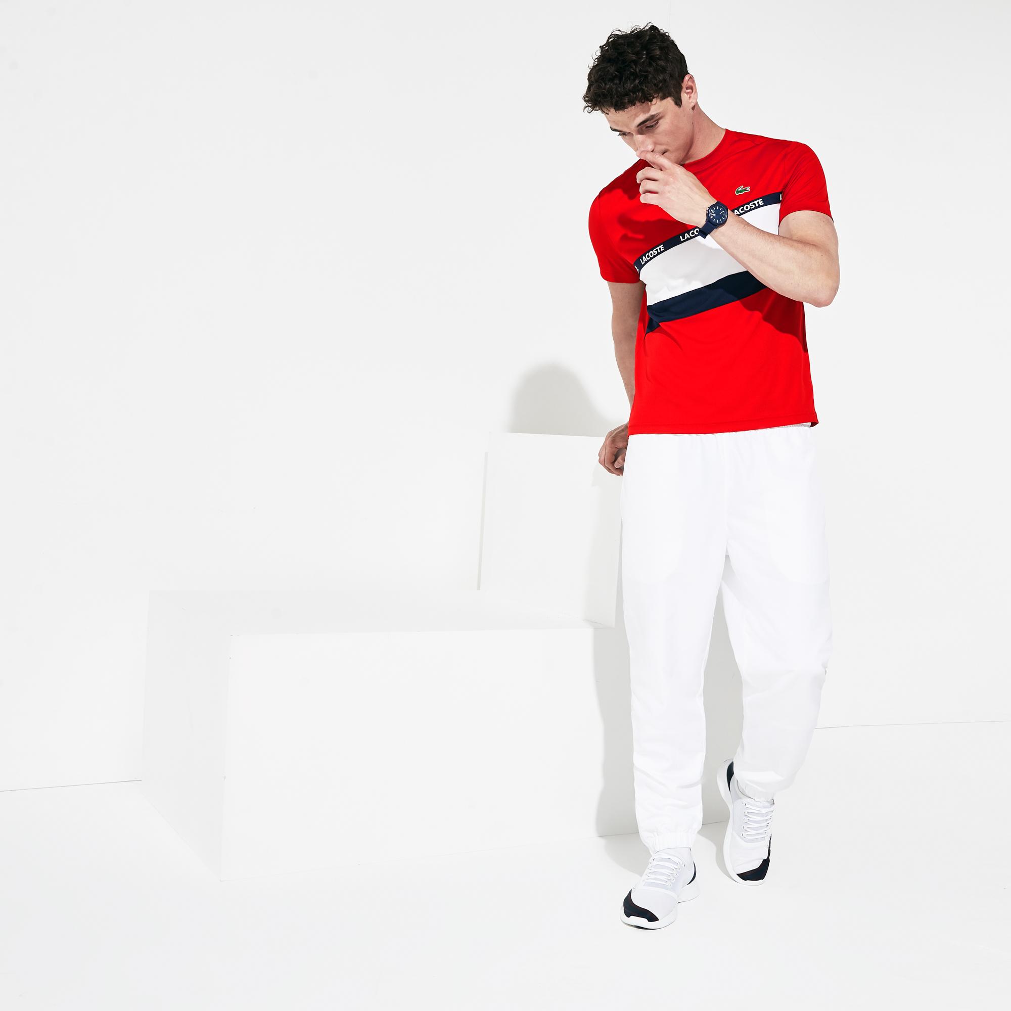 Lacoste Erkek Kırmızı Baskılı T-Shirt